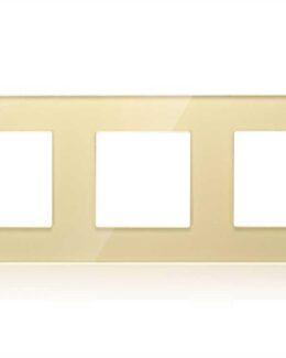 AFDEKRAAM 3-VOUDIG INBOUW GLAS CHAMPAGNE