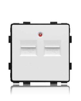 OTT 2.1A USB 2 PORTS WIT