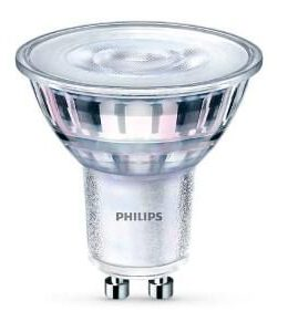 PHILLIPS DIMBAAR LED 2.6 W WARM WHITE GU10 ENERGIE ZUINIG A++
