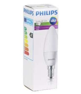 PHILLIPS COREPRO LED CANDLE 5.5W AAN/UIT FITTING e14 ENERGIE KLASSE A+